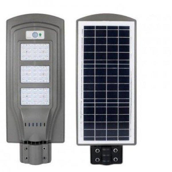 Új Import mozgásérzékelős, napelemes solár lámpa, kandeláber