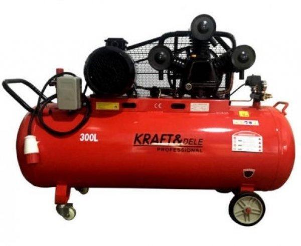 Új Kraft&dele Kompresszor 300 Literes V3 1460lit/min eladó