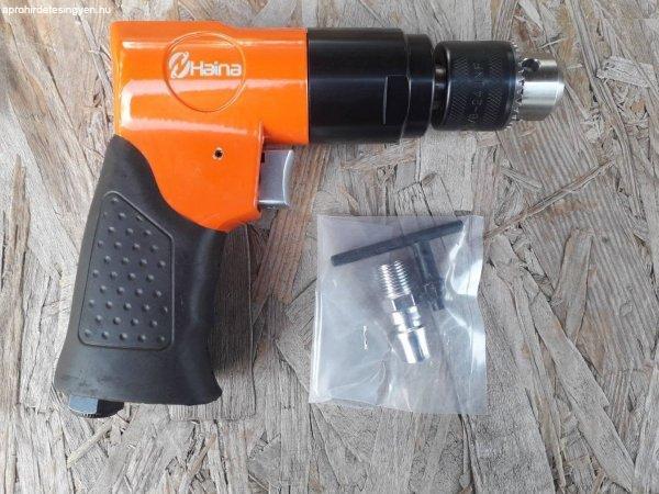 Új import pneumatikus fúró, pisztolyfúró 0-13mm eladó