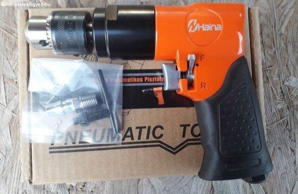 Új import pneumatikus fúró, pisztolyfúró 0-10mm eladó