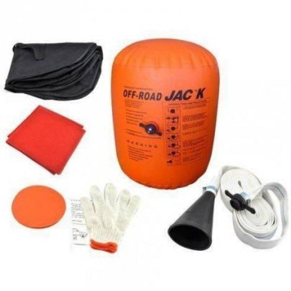 Új air jack autóemelő ballon, kipufogógázzal működő autóemel