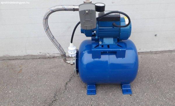 Új Onex házi vízmű, hidrofor 24 literes öntvény szivattyúval
