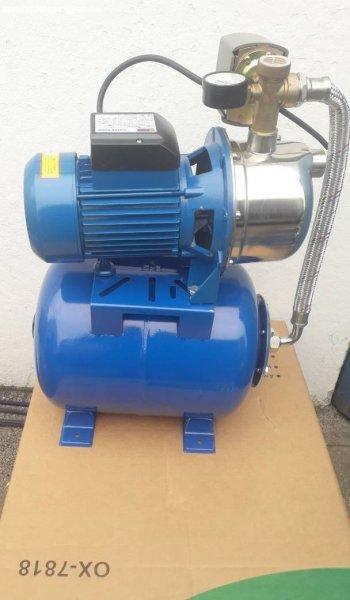 Új Onex german házi vízmű, hidrofor 24 literes inox szivatty