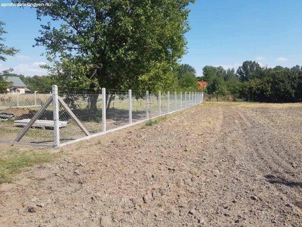 Vadháló drótháló kerítésépítés drótfonat kerítés építés
