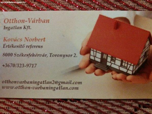 Eladó lakást vagy házat keresek Székesfehérváron.