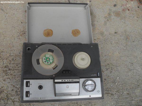 Antik működő szalagos magnó a 60-70-es évekből eladó