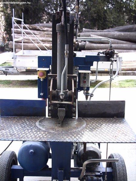 Hidraulikus hasogató, hasogatógép