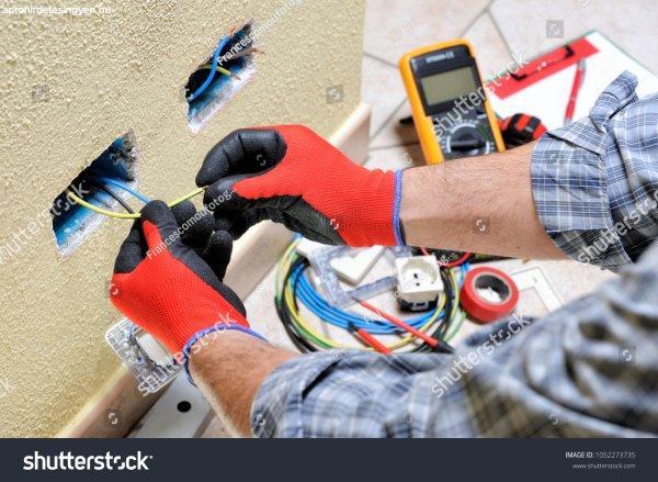 villanyszerelés és kőmüves munka