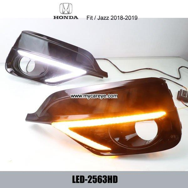 Honda Jazz Fit DRL LED Daytime Running Light led driving lig