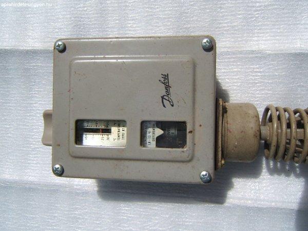 Danfoss ipari termosztát./ használt, kifogástalan /