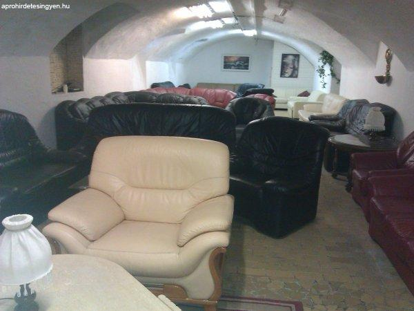 Bőr bútorok, kanapék, ülőgarnitúrák olcsón! Használt és új! - Eladó Használt - Budapest XIV ...