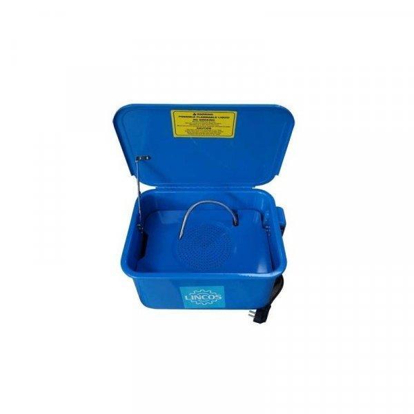 Lincos Alkatrészmosó 22 literes, asztali, hordozható LN-PW3
