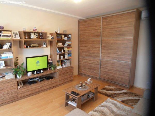 kiadó 56 m2-es 2 szobás teljesen bútorozott és felszerelt