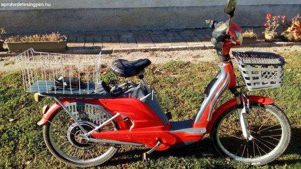 Elektromos kerékpár 36V-os, 22-es, alig használt eladó!
