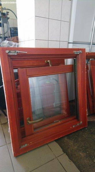 Eladó 4 db bontott fa - ablak és keret