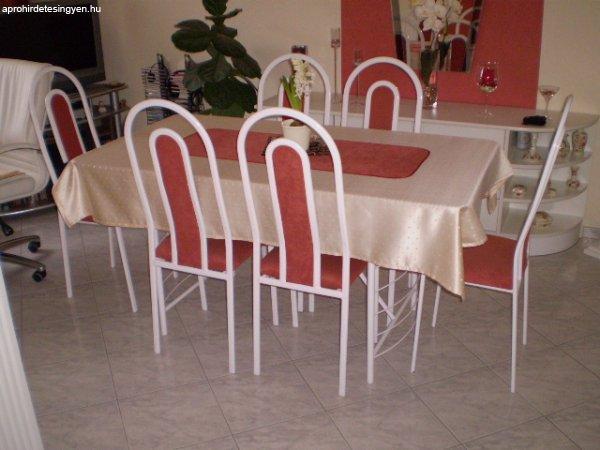 eladó üveg ebédlő asztal 6db székkel - Eladó Használt - Pécs ...