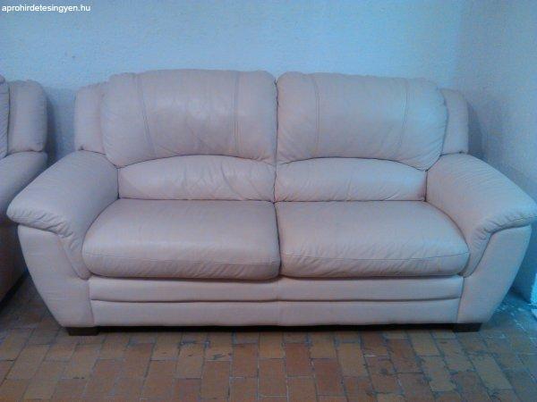 ÓRIÁSI KIÁRUSÍTÁS! Bőr ülőgarnitúra, kanapé! - Eladó Használt ...