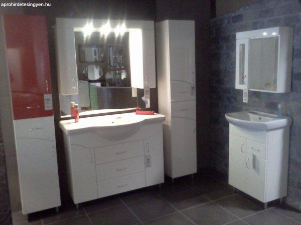 Fürdőszoba szekrények mosdóval,álló szekrények,tükrös szekré ...
