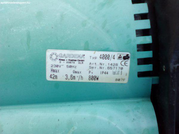 Gardena+4000%2F4+h%E1zi-szivatty%FA+%2B+v%EDz+el%F6sz%FCr%F5