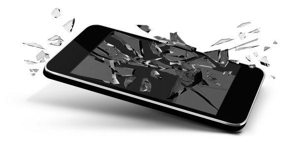 Veszek Tiltott,repedt, törött, érintőképernyős mobiltelefont