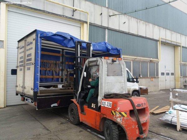 Közúti teherfuvarozás Árufuvarozás Anyagbeszerzés