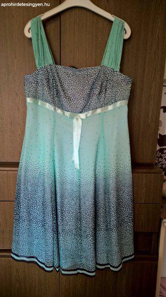 Női alkalmi ruha - világos kék türkíz - Eladó Új - Tatabánya ... f3d14eaf85