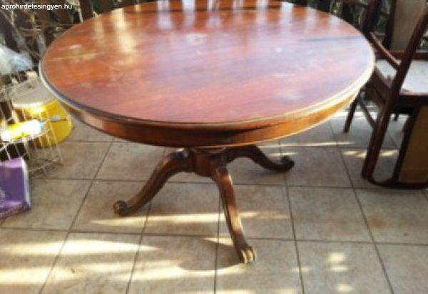 Étkező asztal és 6db szék - Eladó Használt - Gödöllő ...