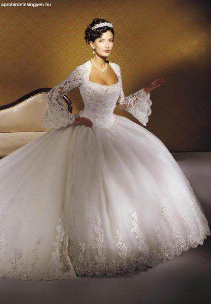 2841dea993 Designer Egyedi Menyasszonyi ruha saját elképzelés alapján ...