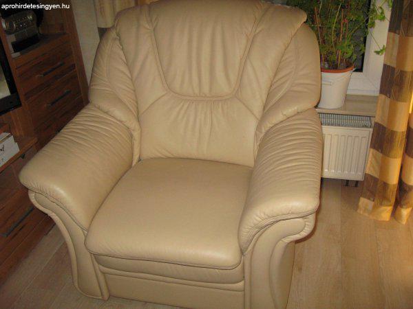 Akció! Bőr ülőgarnitúra, kanapé, fotel, luxus bőr bútor, - Eladó ...