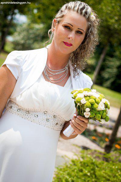 afe61110c2 Görög stílusú esküvői ruha 42-es méret - Eladó Használt - Budapest ...