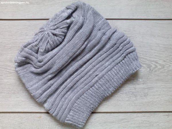 Új divatos szürke kötött női téli sapka - Eladó Új - Győr ... 20fc9beebf