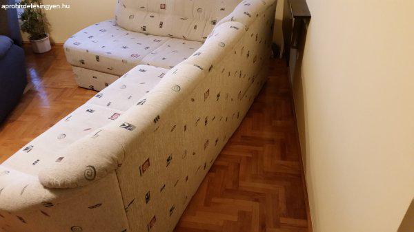 L alakú kanapé ágy, ágyneműtartóval (Kanizsabútor, Leila) - Eladó ...