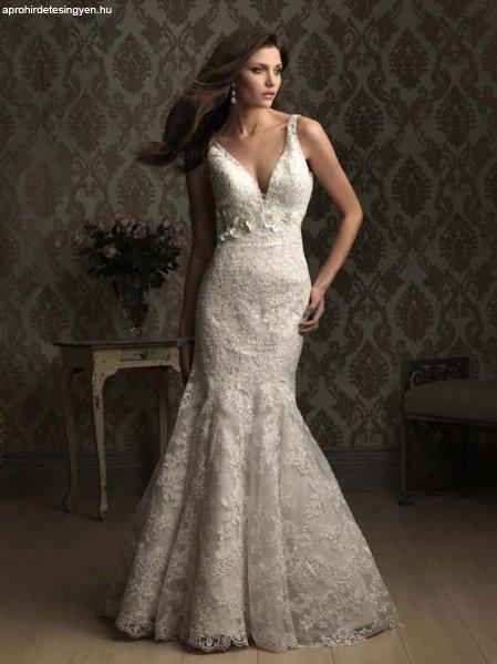Tiszta csipke designer sellő menyasszonyi ruha minden méret - Eladó ... 3f40302839