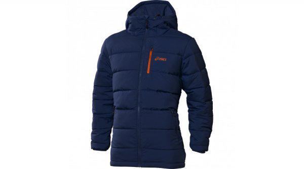 ddd85fd69011 Téli kabát Asics Padded Med Fill Jacket kék XXL akció - Eladó Új ...