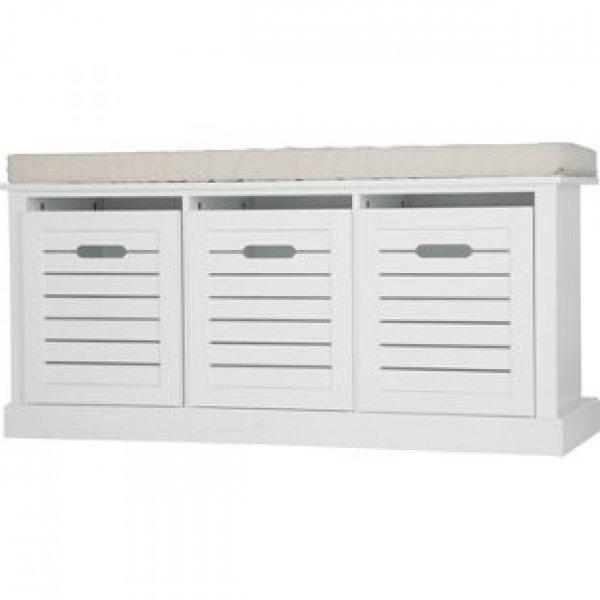 White Shoe Storage Bench Uk