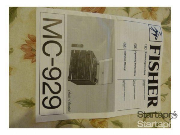 MC-929+Fisher+k%E9tkazett%E1s+lemezj%E1tsz%F3%2C+r%E1di%F3%2C+hangfallal+ela