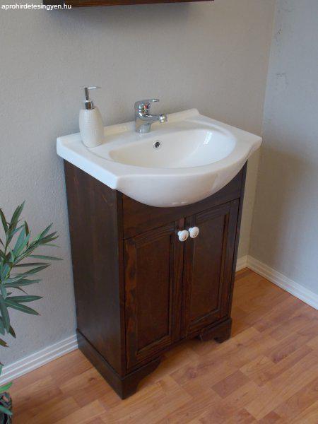 Tömör fa fürdőszoba bútor eladó! - Eladó Új - Gödöllő ...