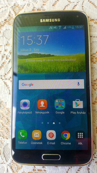 Samsung Galaxy S5 16 GB - Eladó Használt Samsung - Miskolc ... 3695b18be5
