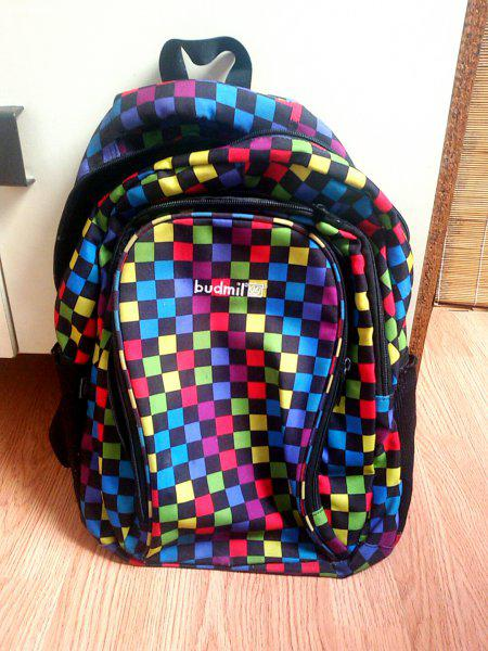 de842b3e6143 Budmil színes kockás hátizsák - Eladó Használt - Szigetszentmárton ...