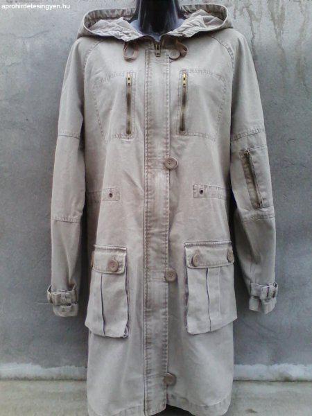 8857b6bb7d Női vászon kapucnis kabát kb. 40-es - Eladó Használt - Óbarok ...
