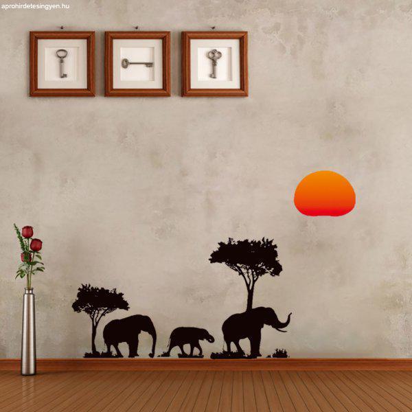 Napnyugta+Afrik%E1ban+-+falmatrica