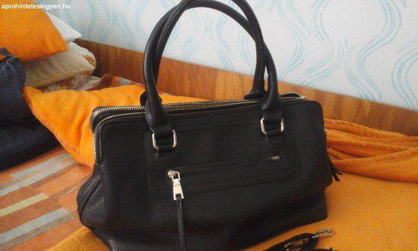 Hallhuber női fekete bőr táska - Eladó - Marcali - Apróhirdetés Ingyen 245faf9616