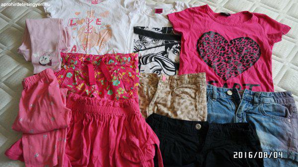 122-128 lány ruhacsomag - Eladó Használt - Érd - Apróhirdetés Ingyen ebf98651a2