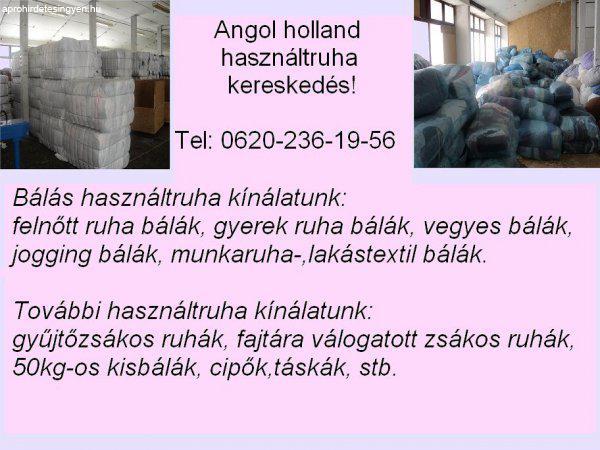 Angol-Holland használtruha nagykereskedés - Eladó Használt - Ajak ... 52671a685d