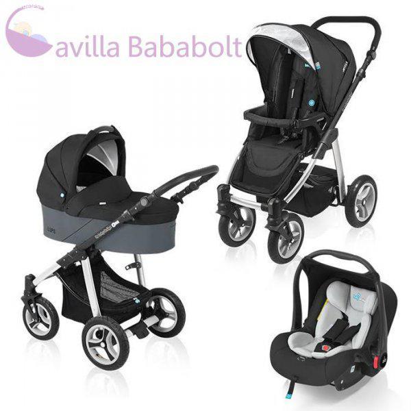 6e8f875d95 Baby Design Lupo 3:1 babakocsi black, 013-Cavilla Bababolt - Eladó ...