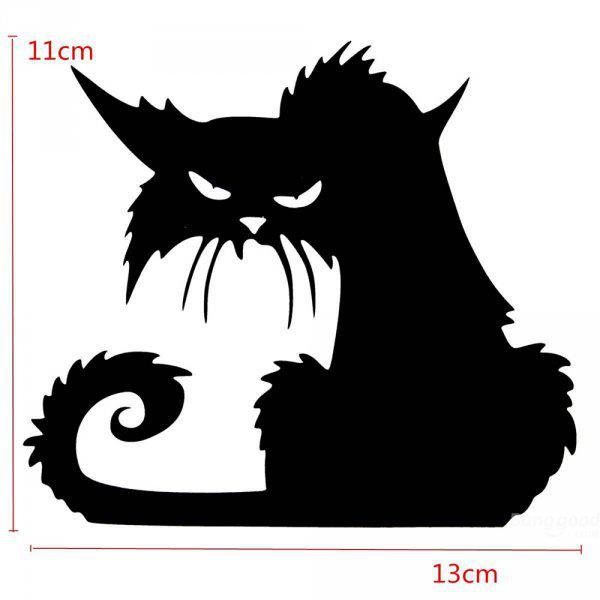 Fekete+macska+falmatrica