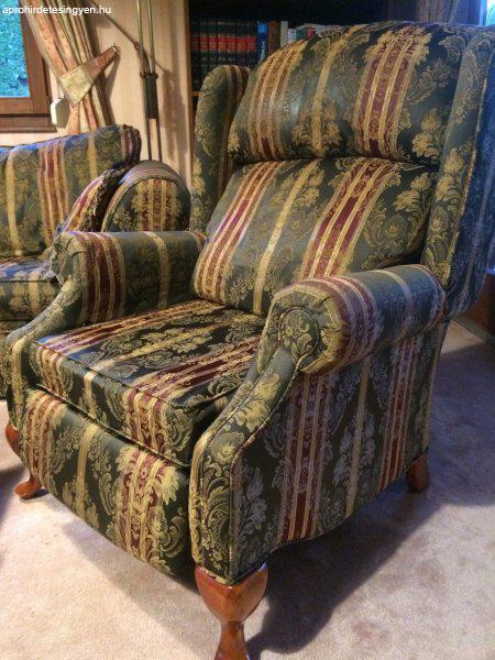 Antik bútorok közé illő angol 3-2-1 ülőgarnitúra - Eladó Használt ...