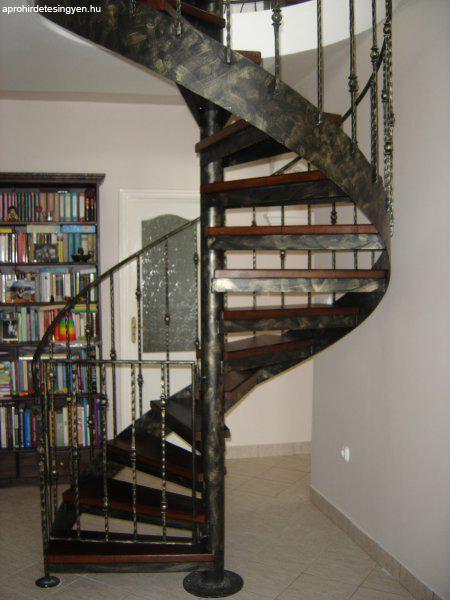 Csigalépcső lépcsőszerkezet - Eladó - Putnok - Apróhirdetés Ingyen