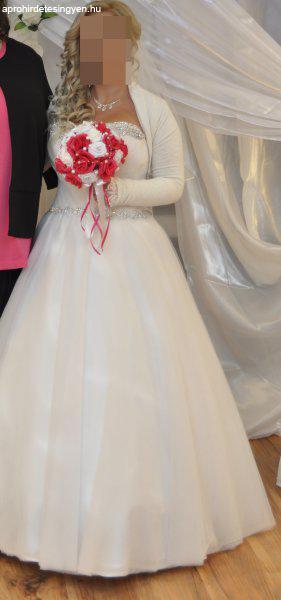 Eladó menyasszonyi ruha   esküvői ruha   menyecske ruha - Eladó Új ... ed357558d2