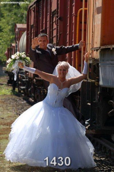 Swarovsky-tüll menyasszonyi ruha eladó! - Eladó Használt - Miskolc ... dd751ffb65